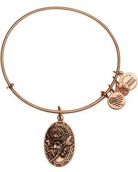 ALEX AND ANI - Because I Love You, Mom Peony Expandable Wire Bracelet Bracelet - Lyst