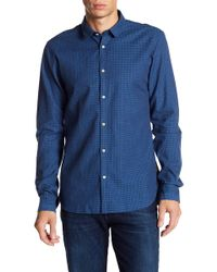 Scotch & Soda | Patterned Regular Fit Shirt | Lyst