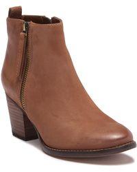 Blondo - Vegas Waterproof Leather Ankle Bootie - Lyst