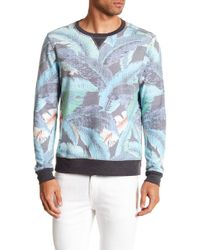 Sol Angeles - Lanai Leaf Print Pullover Sweater - Lyst