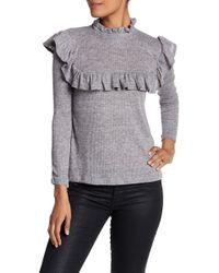 C&C California - Ruffle Detail Shirt - Lyst
