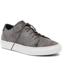 Ted Baker - Duuke Suede Trainer - Lyst