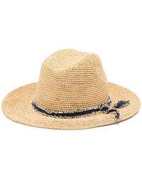 Tommy Bahama - Crochet Raffia Safari Hat - Lyst