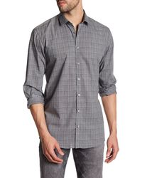 Lindbergh - Plaid Dotted Long Sleeve Regular Fit Shirt - Lyst