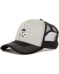 Psycho Bunny - Curved Foam Trucker Cap - Lyst
