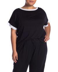 DKNY - Short Sleeve Pajama Top (plus Size) - Lyst