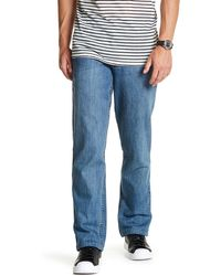Lands' End - Ringspun Relaxed Fit Straight Leg Jean - Lyst