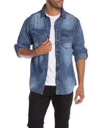 Xray Jeans - Denim Slim Fit Shirt - Lyst