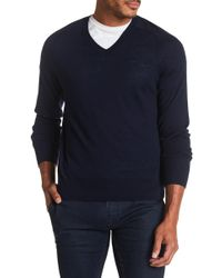 Brooks Brothers - Solid Wool Sweater - Lyst