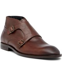 Bacco Bucci - Ibarra Double Monk Strap Boot - Lyst