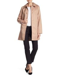 Kate Spade - Scallop Detail Trench Coat - Lyst