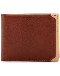 Trafalgar - Leather Id Bifold Wallet - Lyst