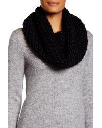 Modena - Seamless Purl Knit Cowl Scarf - Lyst