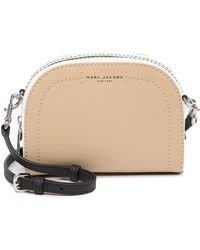 e8c1c491b2 Marc Jacobs - Playback Colorblocked Leather Crossbody Bag - Lyst
