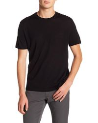 Theory - Veloy Short Sleeve Wool Tee - Lyst