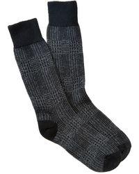 Punto | Plaid Socks | Lyst