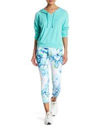 Just Live - Floral Print Capri Leggings - Lyst