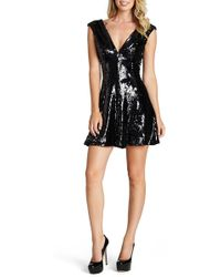 Dress the Population - 'marilyn' Sequin Dress - Lyst