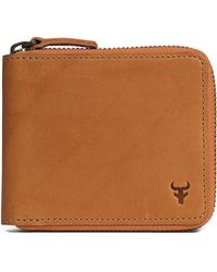 Trask - 'billings' Zip Wallet - Lyst