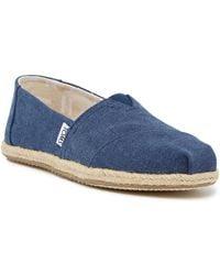TOMS - Canvas Slip-on Shoe - Lyst