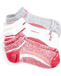Zella - 'fitness' Liner Socks - Lyst