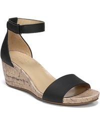 c8d04178f01 Lyst - Naturalizer Jasmin Wedge - Wide Width Available in Black