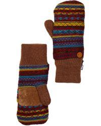 Muk Luks - Vintage Sweater Mittens - Lyst