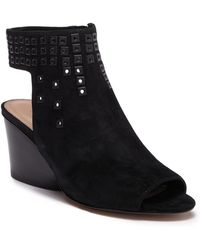Donald J Pliner - Jane Studded Wedge Sandal - Lyst