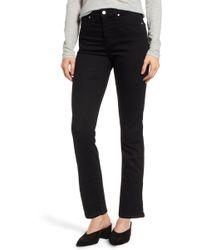 Caslon - (r) Slim Straight Jeans (regular & Petite) - Lyst