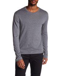 Vince - Loose Knit Long Sleeve Sweater - Lyst