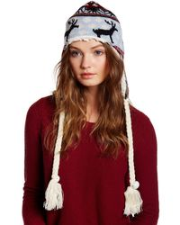Muk Luks - Classic Faux Fur Lined Nordic Helmet - Lyst