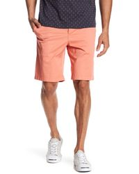 Original Penguin - Solid Straight Fit Shorts - Lyst