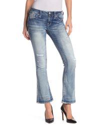 Rock Revival Mid-rise Boot Cut Jeans