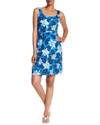 Tommy Bahama - Olympias Blooms Linen Blend Dress - Lyst