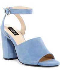 Jones New York - Izzie Block Heel Sandal - Lyst