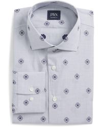 John W. Nordstrom - (r) Trim Fit Medallion Dress Shirt - Lyst