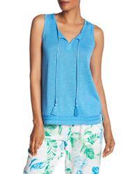 Tommy Bahama - Lea Embellished Linen Tunic - Lyst