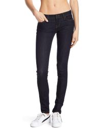 DIESEL - Skinzee Low Rise Skinny Jeans - Lyst