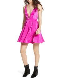 Free People - Gabby's Party All Night Minidress - Lyst