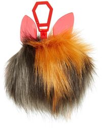 Kendall + Kylie - Bee Dog Faux Fur Bag Charm - Lyst