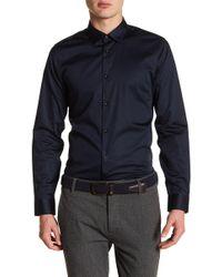 Ted Baker - Marsay Plain Street Trim Fit Shirt - Lyst