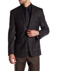Ike Behar - Pandora Plaid Two Button Notch Lapel Wool Suit Separates Jacket - Lyst