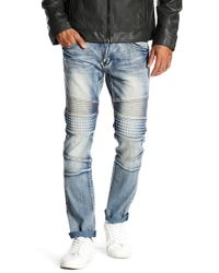 "Xray Jeans - Denim Studded Slim Leg Jeans - 30-32"" Inseam - Lyst"