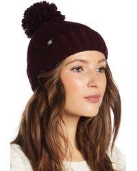 UGG - Knit Pompom Beanie - Lyst
