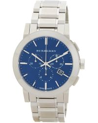 Burberry - Men's Chronograph Bracelet Watch, 42mm - Lyst