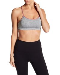 DSGN Yoga - Cross Back Bra - Lyst