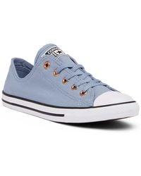 Converse - Chuck Taylor All Star Dainty Canvas Oxford Sneaker (women) - Lyst