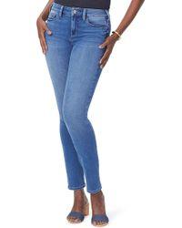 NYDJ - Alina High Waist Uplift Skinny Jeans - Lyst