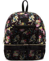 Steve Madden - Floral & Mesh Backpack - Lyst