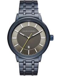 Armani Exchange - Men's Street Bracelet Watch, 46mm - Lyst